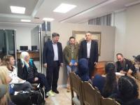 Ισραηλινοί Φοιτητές στο Δημαρχείο Καλαμπάκας