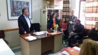 Επίσκεψη υποψηφίων της ΔΑΚΕ σε σχολεία της πόλης των Τρικάλων