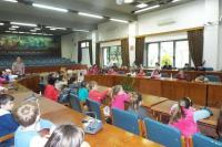 Tο 5ο Δημοτικό Σχολείο Τρικάλων στο Δημαρχείο