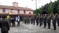 Ο δήμος στην εκδήλωση τιμής για τον Πλατανιώτη έφεδρο καταδρομέα Γεώργιο Νάκο