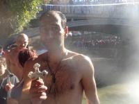 O Αγιασμός των υδάτων στα Τρίκαλα από τους Χριστιανούς της πόλης