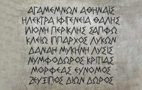 Η ετυμολογία των Eλληνικών ονομάτων