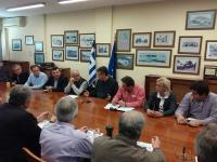 Συνάντηση εργασίας στηv Π.Ε.Δ.Θ. για το θέμα των Δασικών Χαρτών
