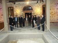 Ο Μάριο Μόντι στο Μουσείο Τσιτσάνη και τα οθωμανικά λουτρα στα Τρίκαλα
