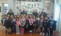 Τα παιδιά των Δημοτικών Σχολείων Βασιλικής και Πετρωτού στο Αθλητικό Μουσείο Τρικάλων