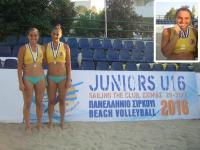 Σε Κλιμάκιο της Εθνικής Beach Volleyball η Παπαθεοδώρου του Ασκληπιού