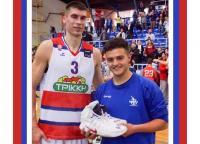 Ο Βαγγέλης Οικονόμου κέρδισε τα παπούτσια του Λίποβι