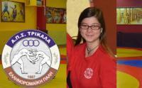 Τέταρτη η Ευανθία Μπαρλαφέστα στο πανελλήνιο πρωτάθλημα νεανίδων!