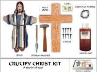 Σάλος με το παιχνίδι για παιδιά «Σταυρώστε τον Ιησού μόνοι σας»