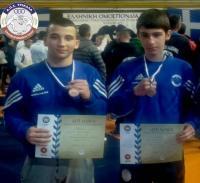 1ος ο Μάριος Δήμου, 3ος ο Δημήτρης Θανασάκης στους πανελλήνιους μαθητικούς αγώνες πάλης