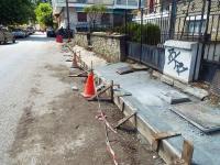 Είδηση: Ανακατασκευάστηκε πεζοδρόμιο στα Τρίκαλα !