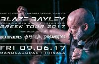 BLAZE BAYLEY (Iron Maiden singer 1994-1999) Παρασκευή 9 Ιουνίου στον Μανδραγόρα