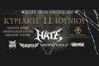HATE (PL) live in Trikala Κυριακή 11 Ιουνίου στον Μανδραγόρα