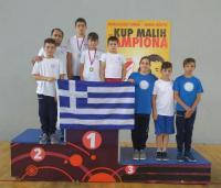 2 μετάλλια για τον Α.Σ.ΤΡΙΚΑΛΩΝ στο Zrenjanin της Σερβίας