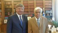 Συνάντηση Δημάρχου Καλαμπάκας με τον πρόεδρο της Δημοκρατίας
