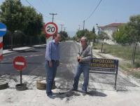 Aποκατάσταση δρόμων στο Ριζαριό