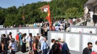 Μουσείο - Μνημείο του ΔΣΕ στο χωριό Θεοτόκος, στο Γράμμο εγκαινίασαν οι Κομμουνιστές