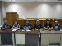 Συνέντευξη τύπου για μαζική συμμετοχή στο συλλαλητήριο της Λάρισας