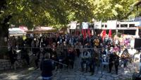H ιστορική-πολιτική εκδήλωση για τη Ρόζα Ιμβριώτη στην πλατεία της Τύρνας