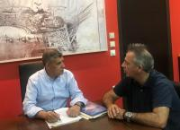 Βελτιώνει τον δρόμο Γόμφοι-Λαζαρίνα η Περιφέρεια Θεσσαλίας