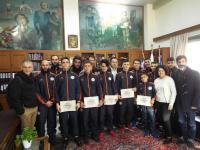 Επιβράβευση νεαρών αθλητών της πάλης