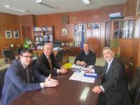Το νέο Διοικητικό Συμβούλιο του Δικηγορικού Συλλόγου Τρικάλων στον Αντιπεριφερειάρχη Τρικάλων