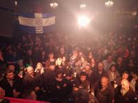 Με μεγάλη επιτυχία η εκδήλωση της Χρυσής Αυγής στην Καλαμπάκα