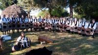 Εορταστικές  Εκδηλώσεις  στον ναΐσκο του Αγίου Γεωργίου του Συλλόγου Σαρακατσαναίων Τρικάλων