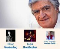 O Λίνος Κόκοτος σε συναυλία στα Τρίκαλα