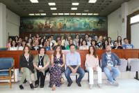 Ευρωπαίοι εκπαιδευτικοί και μαθητές στο Δημαρχείο Τρικκαίων