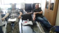 Αιμοδοσία του Συλλόγου των Υπαλλήλων της Περιφερειακής Ενότητας Τρικάλων