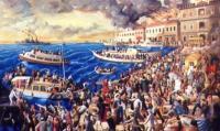 Οι τελευταίοι Έλληνες στρατιώτες εγκαταλείπουν την Σμύρνη - Αρχίζουν οι σφαγές