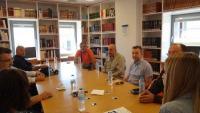 Συνάντηση με τους Διευθυντές των σχολείων στη Βιβλιοθήκη Καλαμπάκας