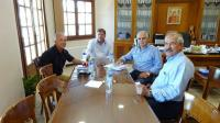 Συνάντηση του Δημάρχου Μετεώρων με τους διευθυντές του ΙΕΚ Τρικάλων και του ΕΠΑΛ Καλαμπάκας