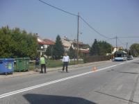 Εργασίες διαγράμμισης στην Εθνική οδό Τρικάλων - Άρτης