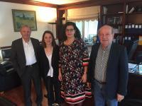 Συνάντηση εργασίας των βουλευτών Τρικάλων του ΣΥΡΙΖΑ με την διοικήτρια του ΟΑΕΔ