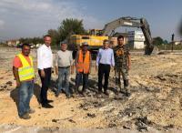 Ξεκίνησε η κατασκευή των δέκα κυκλικών κόμβων στην Π.Ε Τρικάλων από την Περιφέρεια Θεσσαλίας