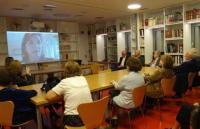 Επίσκεψη Γεωργίου και Παναγιώτη Μπεχράκη στη Βιβλιοθήκη Καλαμπάκας