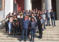 Επίσκεψη του 4ου Γυμνασίου Τρικάλων «ΓΙΩΡΓΟΣ ΣΕΦΕΡΗΣ» στη βουλή