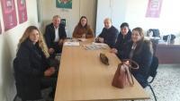 """Συνάντηση των βουλευτών του ΣΥΡΙΖΑ Τρικάλων με τους εργαζόμενους του προγράμματος """"Βοήθεια στο Σπίτι"""""""