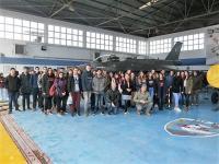 Το 5ο Γενικό Λύκειο Τρικάλων στην 110η  Πτέρυγα Μάχης Αεροπορικής Βάσης Λάρισας (Πολεμική Αεροπορία)