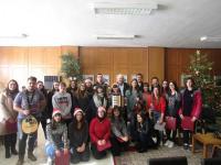 Μαθητές του 3ου Γενικού Λυκείου Τρικάλων τα καθιερωμένα κάλαντα στην Αντιπεριφέρεια
