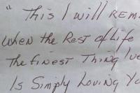 Το ραβασάκι του παππού στη σύζυγό του πριν πεθάνει που έγινε viral