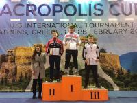 3 μετάλλια στο Akropolis Cup international tournament ο Α.Σ.ΤΡΙΚΑΛΩΝ