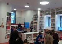 Επίσκεψη Δημοτικού Σχολείου Τρικάλων στη Βιβλιοθήκη Καλαμπάκας
