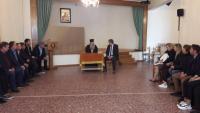 Συνάντηση του υποψήφιου Δημάρχου Δήμου Μετεώρων με τον Μητροπολίτη Σταγών και Μετεώρων κ.κ. Θεόκλητο