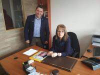 Την Αρχαιολογική Υπηρεσία Τρικάλων επισκέφθηκε ο Υποψήφιος Δήμαρχος Πύλης, Βαλάντης Τσιούτσιας