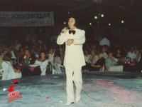 Στα Τρίκαλα το 1989. Ο Σταμάτης Κόκκοτας στη πίστα του