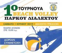 Beach Volley στο Διαλεχτό!