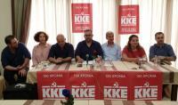Παρουσιάστηκε το ψηφοδέλτιο του ΚΚΕ στο νομό Τρικάλων για τις βουλευτικές εκλογές